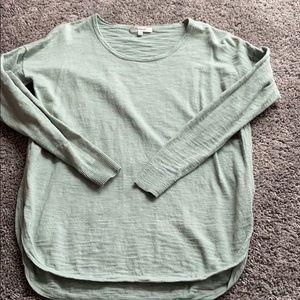 Madewell mint green sweater